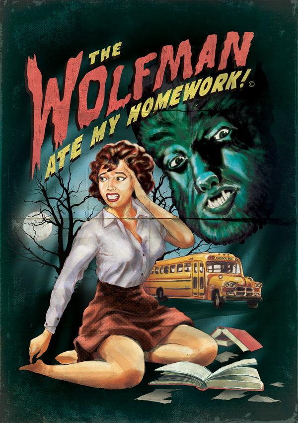 wolfman ate my homework