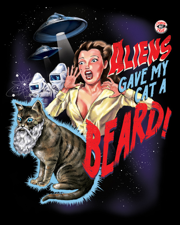 Cat-a-beard