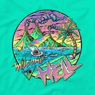 // Apocalyptic 80s windsurfing