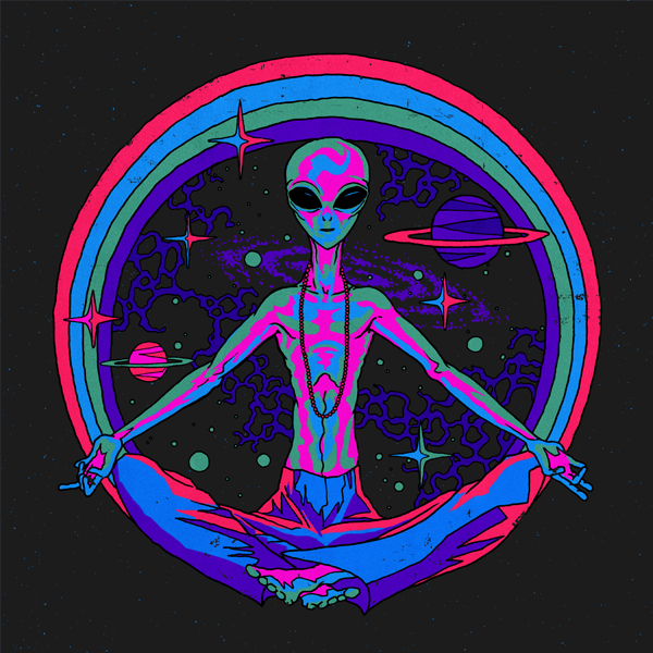 art aliens psychedelic - photo #16