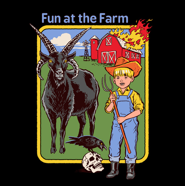 // And on that farm he had a....demonic goat?